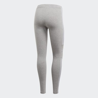Women Originals Grey Trefoil Tights