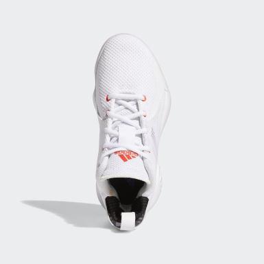 Děti Basketbal bílá Obuv D Rose 773 2020