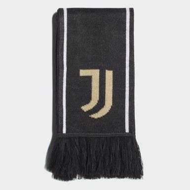 Fußball Juventus Turin Schal Schwarz