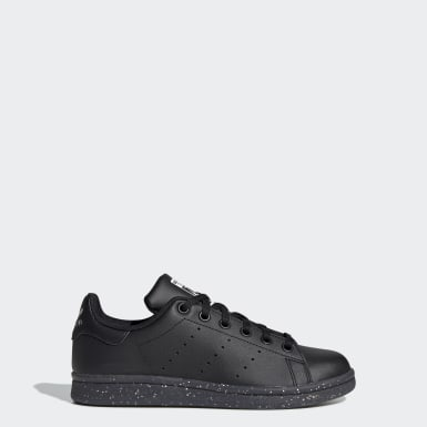 Tenis Stan Smith Negro Niño Originals