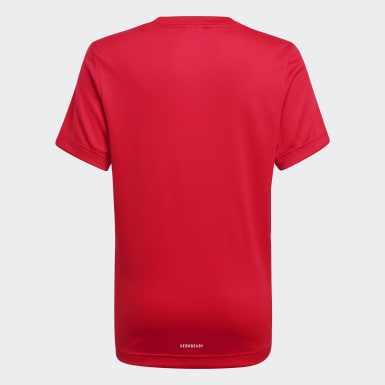 T-shirt AEROREADY Rouge Garçons Training