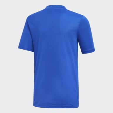 Camiseta Striped 19 Azul Niño Training