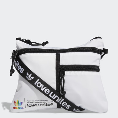 Originals White Pride Flat Crossbody Bag