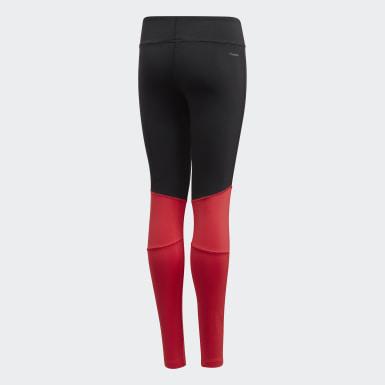 Calzas Largas Cardio Negro Niña Training