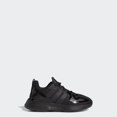 Kids Originals Black ZX 2K Flux Shoes
