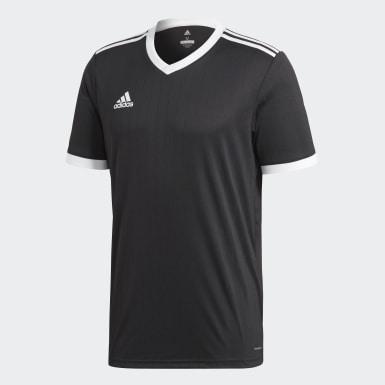 ผู้ชาย ฟุตบอล สีดำ เสื้อฟุตบอล Tabela 18