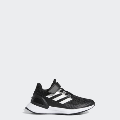 Kids Running Black RapidaRun Shoes