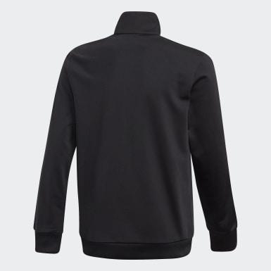 เด็ก Originals สีดำ เสื้อแทรค Adicolor 3D Trefoil