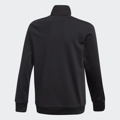 Deti Originals čierna Tepláková bunda Adicolor 3D Trefoil