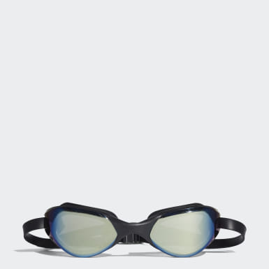 Swimming Green persistar comfort mirrored swim goggle