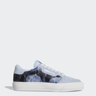 Women Originals Blue Continental Vulc Shoes