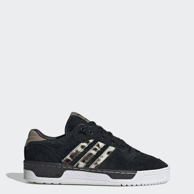 Sapatos Rivalry Low Preto Homem Originals