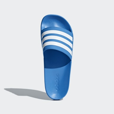 Mænd Originals Blå Adilette Cloudfoam sandaler