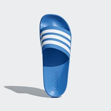 Men Originals Blue Adilette Shower Slides