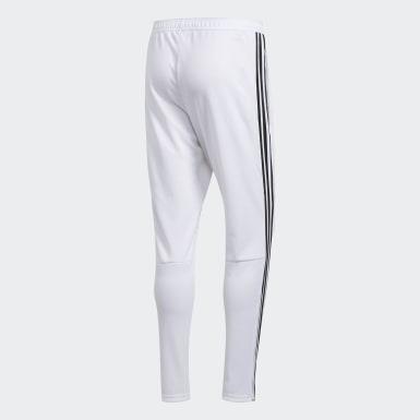 Men Soccer White Tiro 19 Training Pants