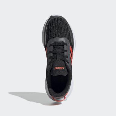 Çocuklar Koşu Black Tensor Ayakkabı