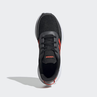 Kids Running Black Tensor Shoes