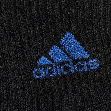 Children Training Black Superlite Badge of Sport Quarter Socks 6 Pairs