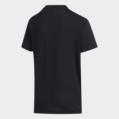 Camiseta 3-Stripes Preto Meninos Training