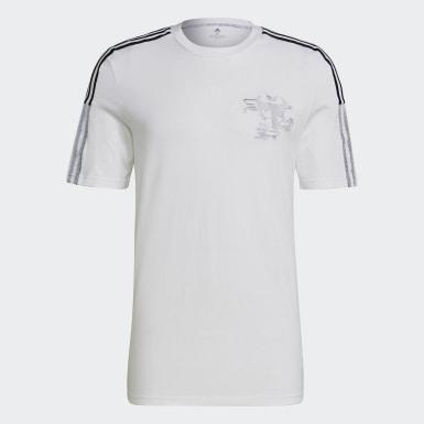 Men Football White Real Madrid CNY Jersey