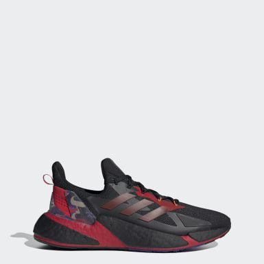 Men Running Black X9000L4 Shoes