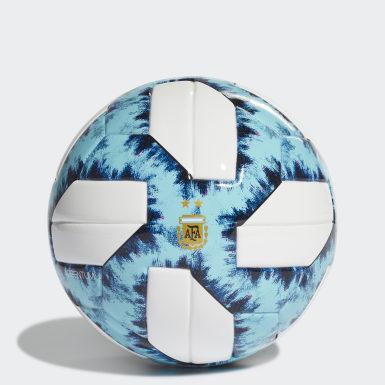 Minipelota Argentina 19 (UNISEX) Blanco Fútbol