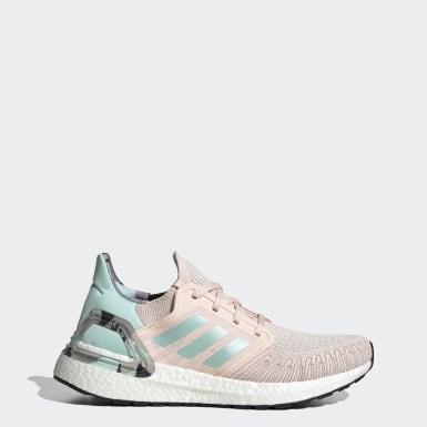 Dames Hardlopen Roze Ultraboost 20 Schoenen