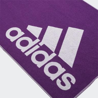 Serviette adidas (grand format) Violet Natation