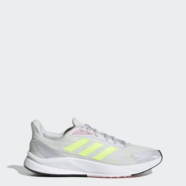 X9000L1 W Gris Mujer Running
