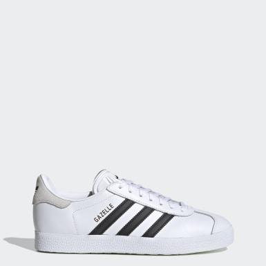 Sapatos Gazelle Branco Mulher Originals