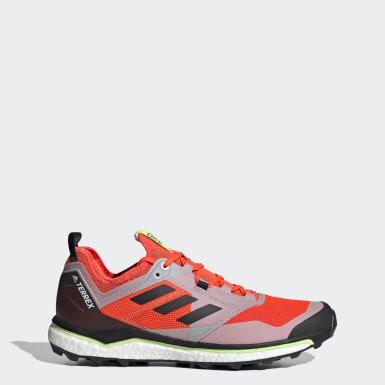 Sapatos de Trail Running Agravic XT TERREX Laranja Homem TERREX