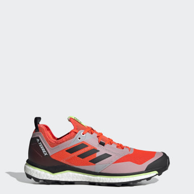Men's Trail Running Orange Terrex Agravic XT Trail Running Shoes
