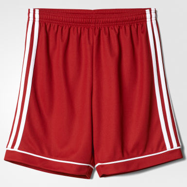 Short Squadra 17 Rouge Garçons Training