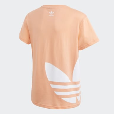 оранжевый Футболка Big Trefoil