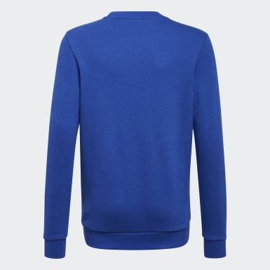 Boys Sport Inspired Blue Essentials Sweatshirt