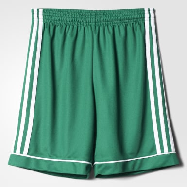 Youth Soccer Green Squadra 17 Shorts
