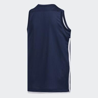 Děti Basketbal modrá Dres 3G Speed Reversible
