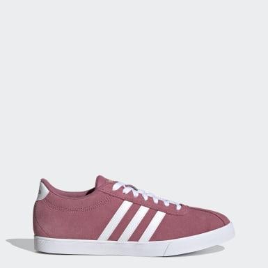 Kvinder Tennis Pink Courtset sko