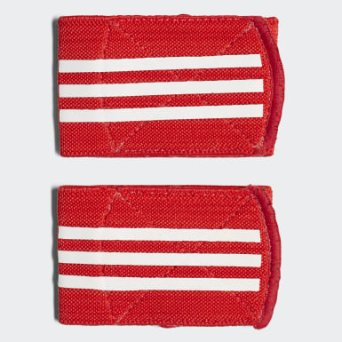 Soccer Red Ankle Straps
