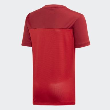 Youth 8-16 Years Training Red Equipment T-Shirt
