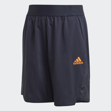 Football-Inspired Predator Shorts Niebieski