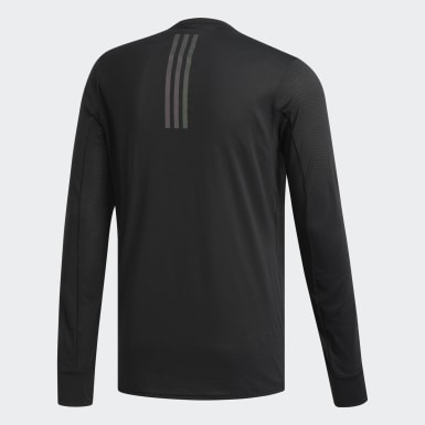 T-shirt Supernova Noir Hommes Running