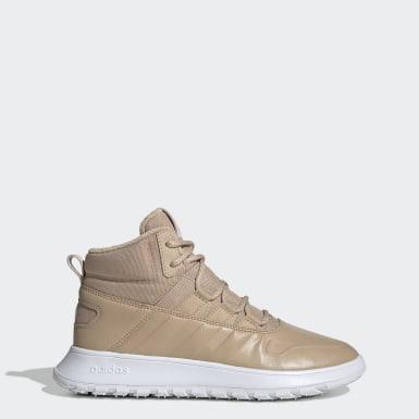 бежевый Зимние ботинки Fusion