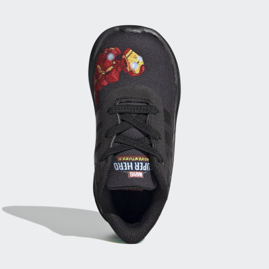 Kids Running Black Lite Racer 2.0 Shoes