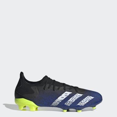 Men Football Black Predator Freak.3 Firm Ground Boots