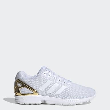 Originals White ZX Flux Shoes