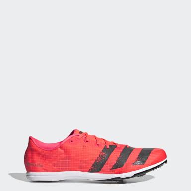 Sapatos de Bicos Distancestar Rosa Homem Atletismo