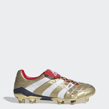 Calzado de Fútbol Predator Accelerator Zinédine Zidane Terreno Firme Oro Hombre Fútbol