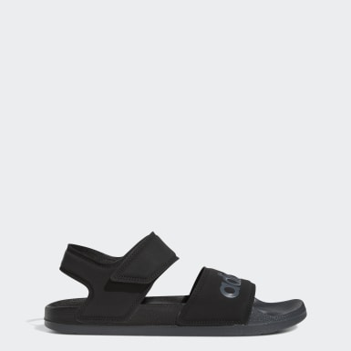 Swimming Black Adilette Sandals