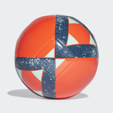 Men Football Orange Starlancer Ball